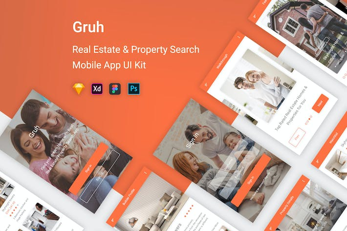 Thumbnail for Gruh - Real Estate & Property Search App