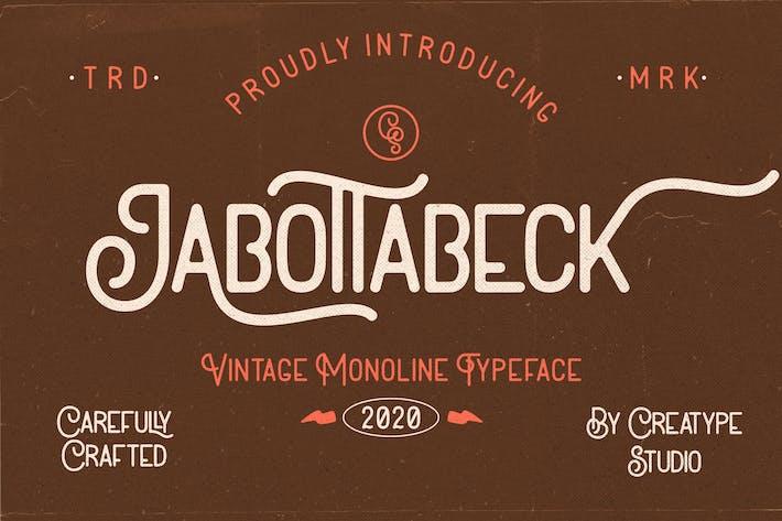 Jabottabeck Vintage Monoline