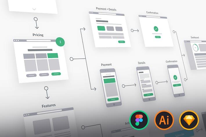 Download 24 Flowchart Graphic Templates Envato Elements