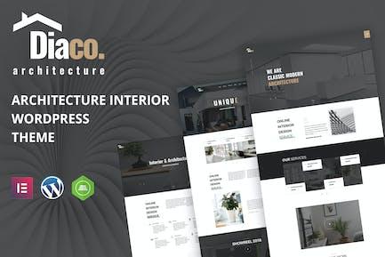 Diaco - Architecture & Interior Design Elementor W