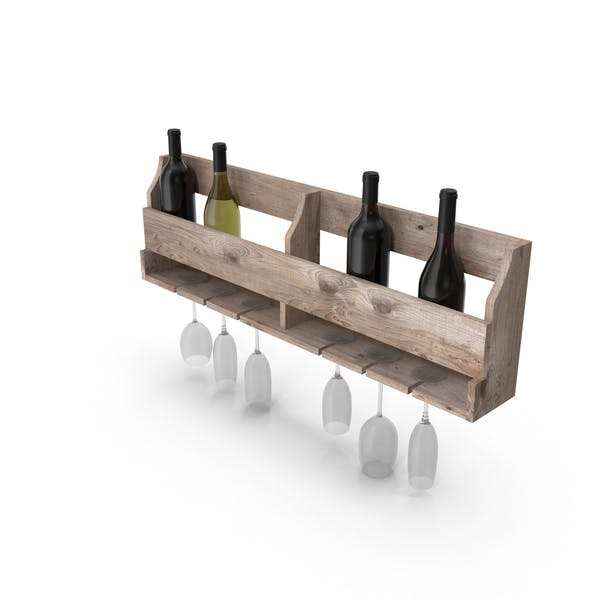 Thumbnail for Wall Wine Rack