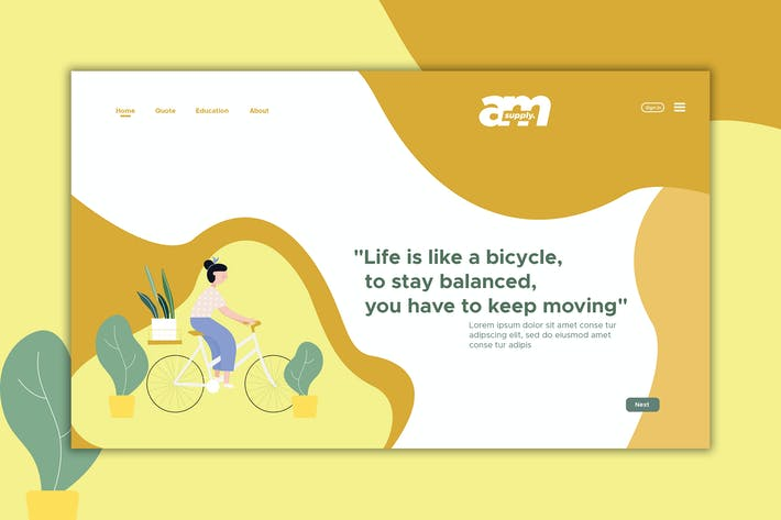 Thumbnail for Bicycle - Web Header & Landing Page