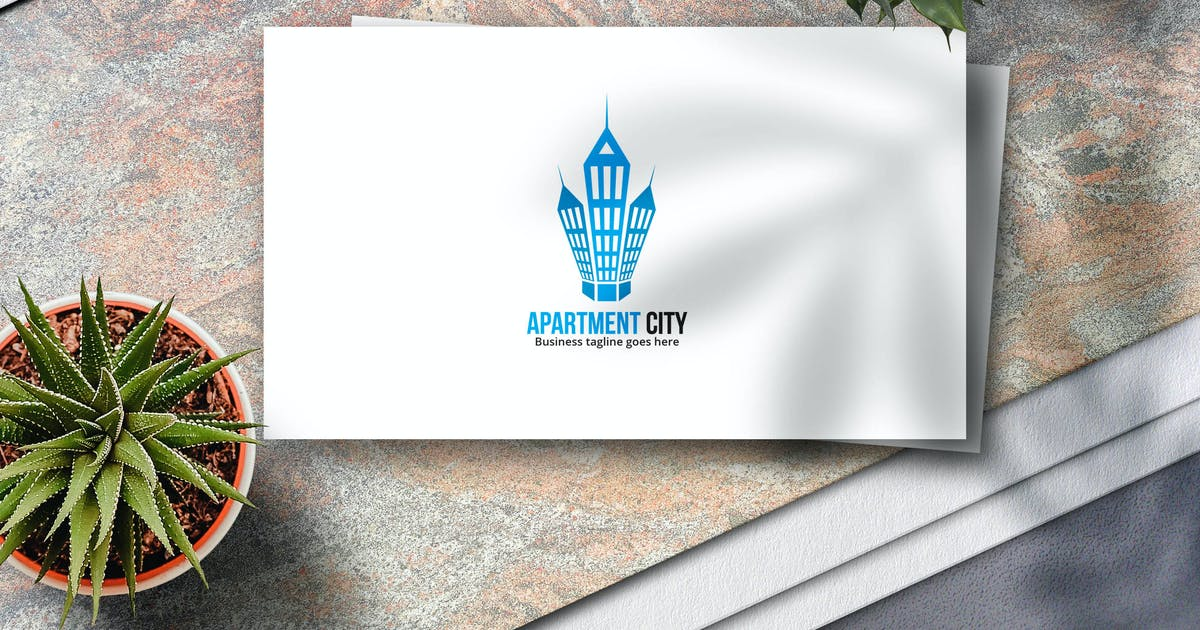 Download Apartment City Logo by Voltury