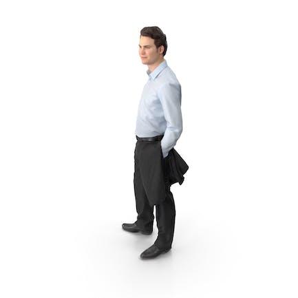 Man Posed