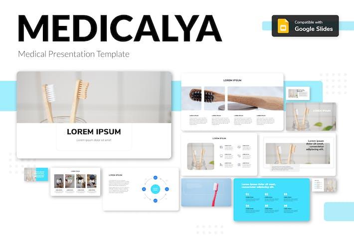 Thumbnail for MEDICALYA - Medical Presentation Template