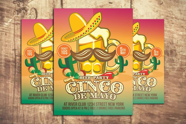 Cover Image For Cinco De Mayo Beer Party
