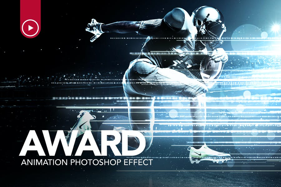 Award Animation Photoshop Action