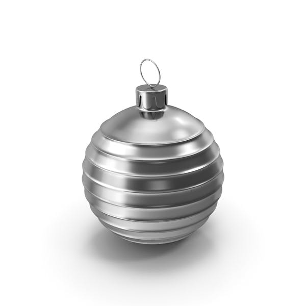 Christmas Tree Toy Silver