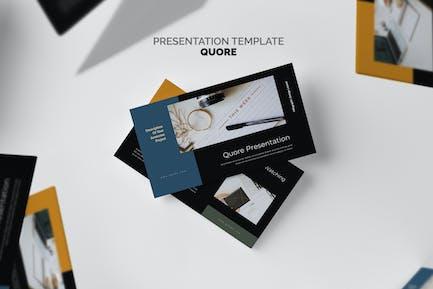 Quore: Infografía Vector Negocios Keynote