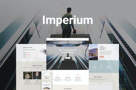 Imperium - Responsive Muse Template