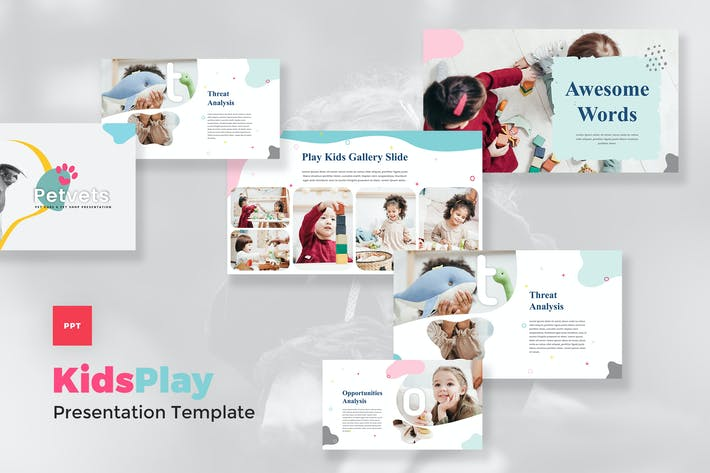 Kids & Baby PowerPoint Template