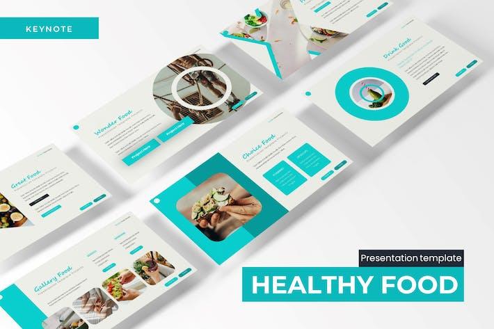 Healthy Food - Keynote Template