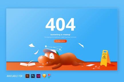 404 Page - Web Illustration