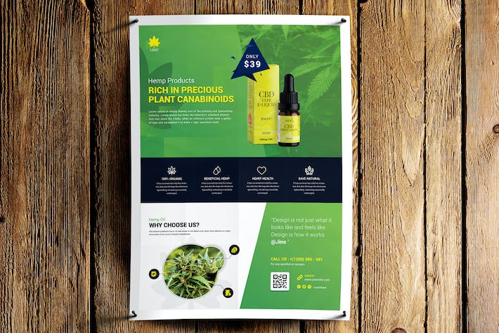 Thumbnail for Hemp Products Flyer