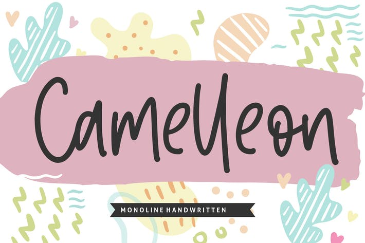 Thumbnail for Camelleon Script Fuente YH