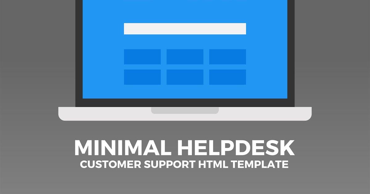 Minimal Helpdesk | Customer Support HTML Template by PressApps