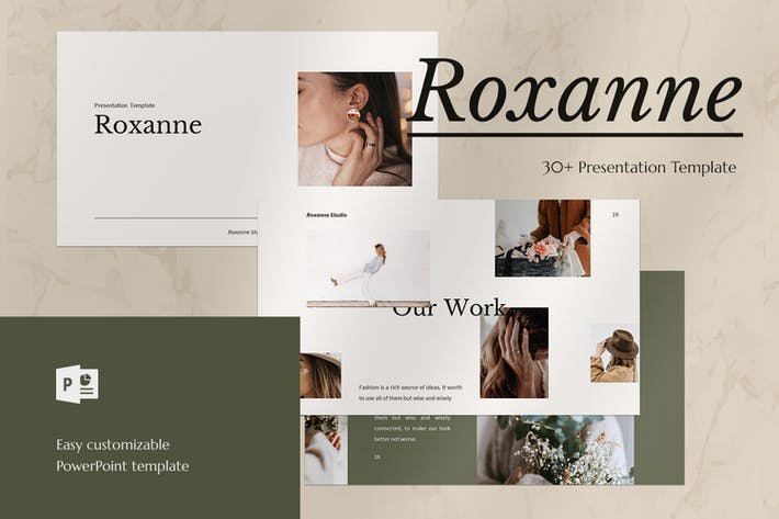 Thumbnail for Roxanne - PowerPoint Vorlage