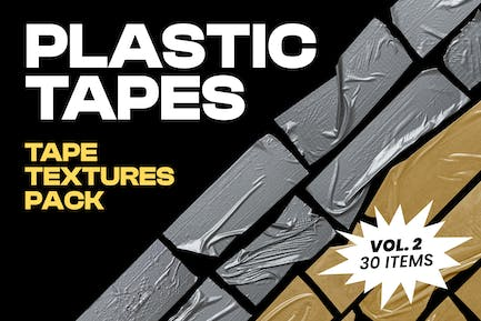 Plastic Tapes Vol.2 - 30 Textures Pack