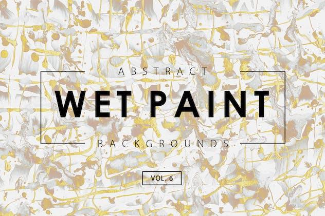 Wet Paint Backgrounds Vol. 6