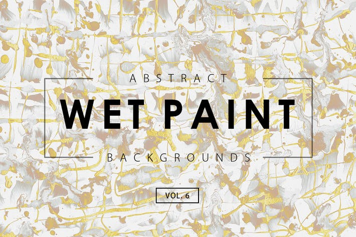 Thumbnail for Wet Paint Backgrounds Vol. 6
