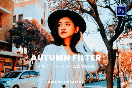 Autumn Filter Photoshop Action