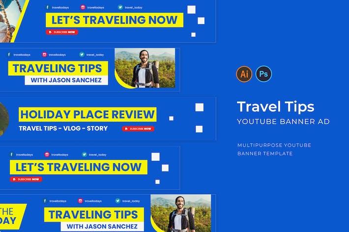 Thumbnail for Travel Tips Youtube Cover