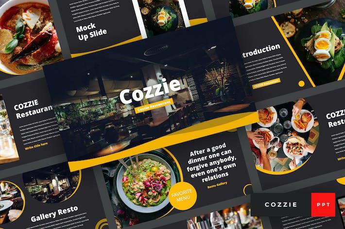 Thumbnail for Cozzie - Restaurant PowerPoint Template