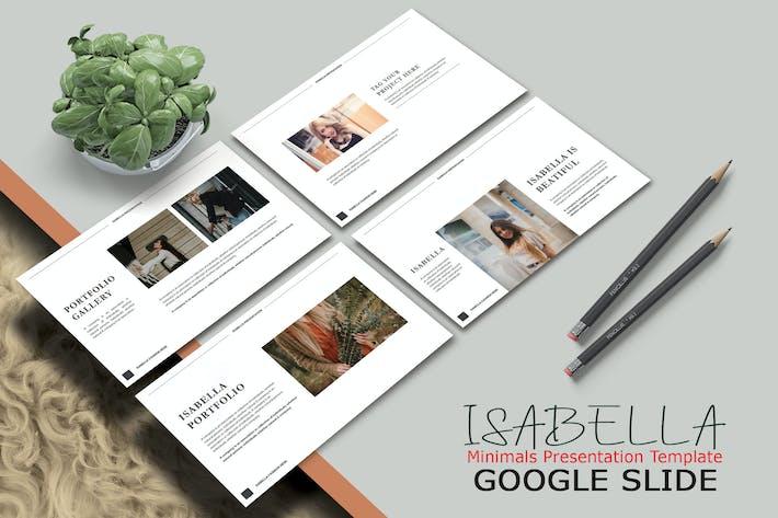 ISABELLA - Google Slide Template