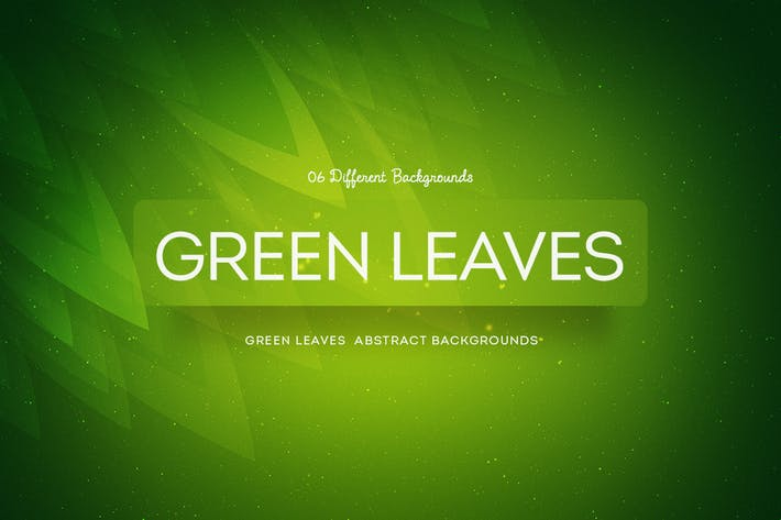 Green Leaves Abstract Backgrounds COL 2
