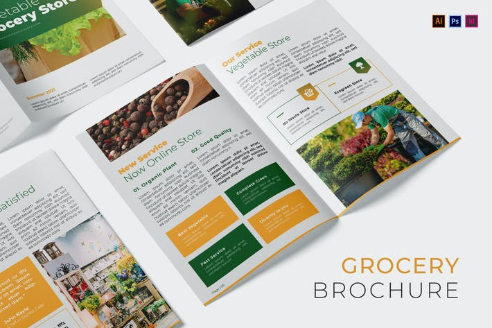 Thumbnail for Vegetable Grocery Company Brochure