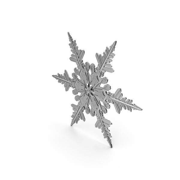 Металл Снежинка
