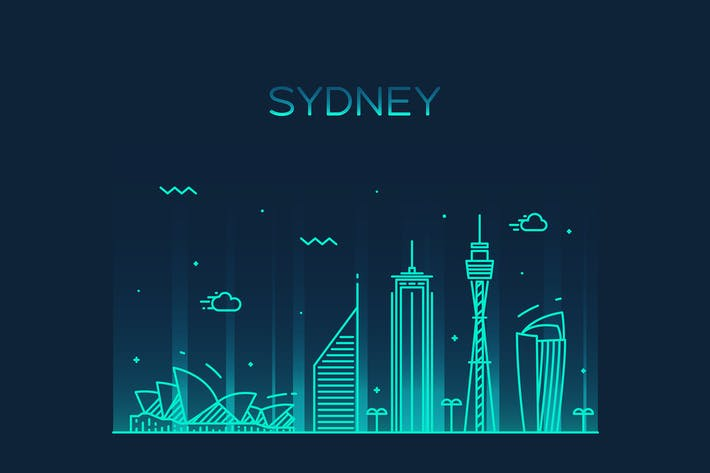 Thumbnail for Sydney skyline, Australia