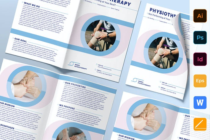 Thumbnail for Physiotherapy Brochure Bifold