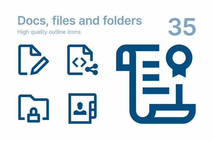 Thumbnail for Docs, files and folders