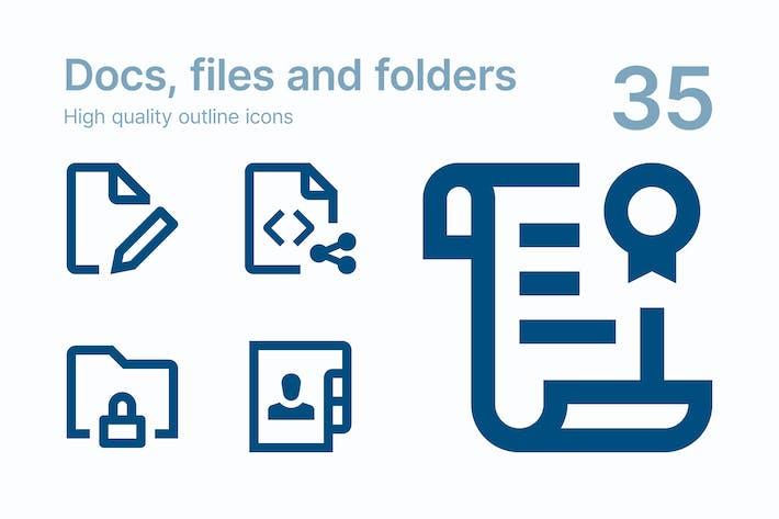 Thumbnail for Documentos, archivos y carpetas
