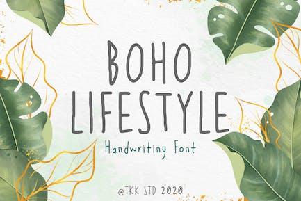 Boho Lifestyle - Cute Girly Font