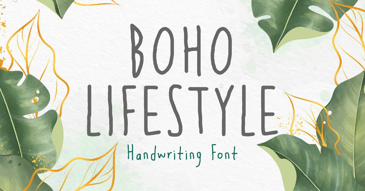 Download Boho Lifestyle - Cute Girly Font by Tokokoo