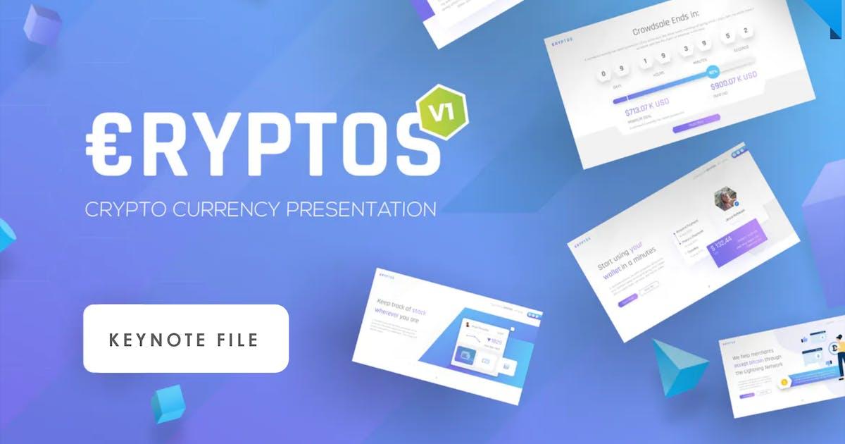 Download Cryptos - Crypto Currency Keynote Presentation by BrandEarth