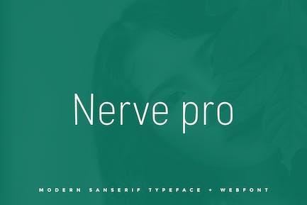 Nerve pro - Tipo de letra + Fuentes Web