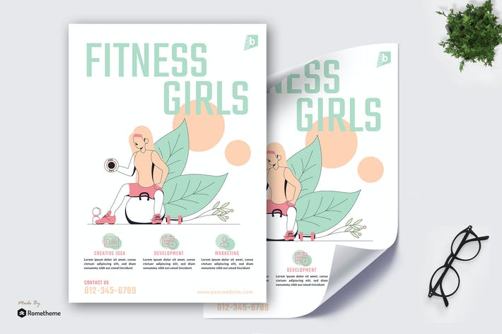 Thumbnail for Fitness Girl - Poster GR