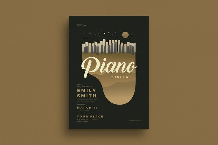 Thumbnail for Piano Concert Flyer