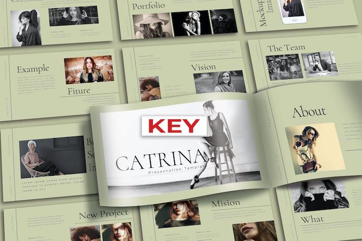 Cover Image For CATRINA - Шаблон Keynote