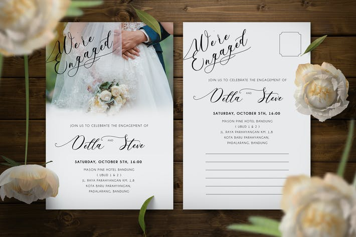 Thumbnail for Engagement Invitation