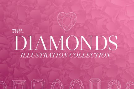 Diamonds Illustration Collection
