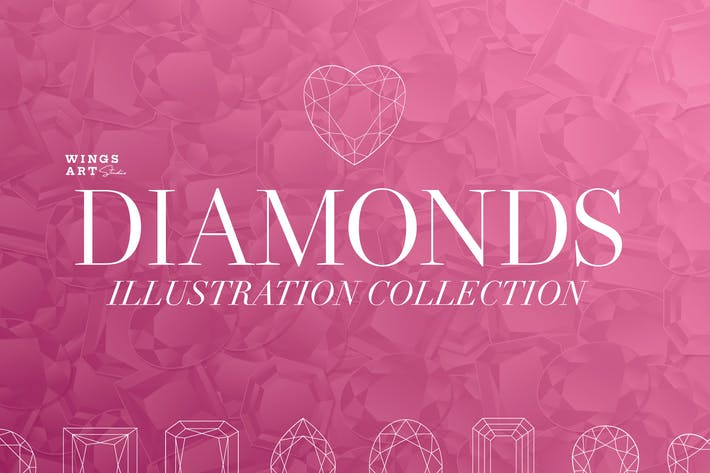 Thumbnail for Diamonds Illustration Collection
