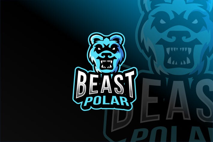 Thumbnail for Beast Polar Esport Logo Template