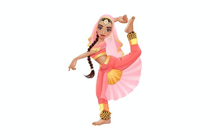 Thumbnail for Danseuse indienne