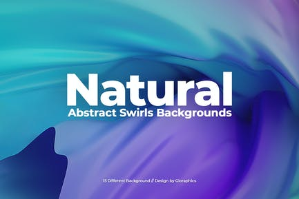 Natural Abstract Swirls Backgrounds