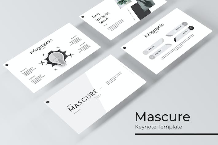 Thumbnail for Mascure - Plantilla de Keynote