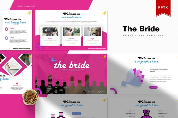 Thumbnail for The Bride | Powerpoint Template